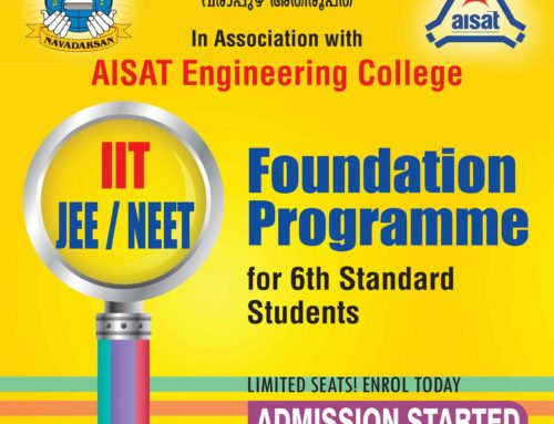 Foundation Program IIT JEE/NIT-Admission Started