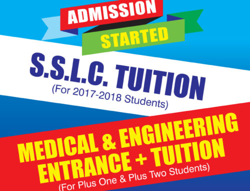 S.S.L.C Tuition & Medical & Engineering Entrance Tuition -Admission Started